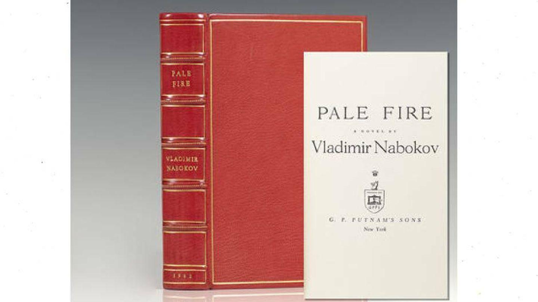 Primera edición de 'Pale Fire' en 1961