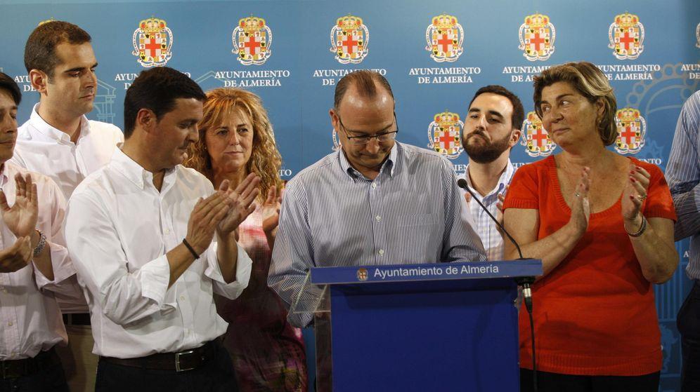 Foto: El alcalde de Almería, Luis Rogelio Rodríguez-Comendador. (EFE)