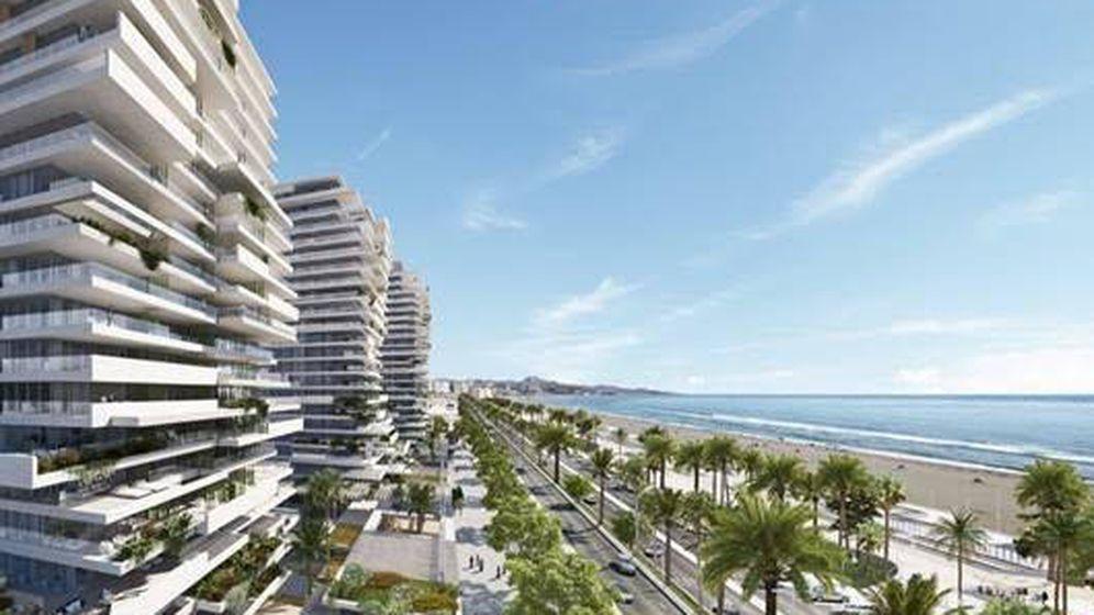 Foto: Recreación de Picasso Towers en Málaga.