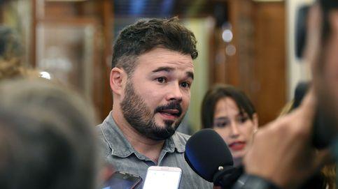 Rufián condiciona el apoyo a los Presupuestos a la absolución de los soberanistas presos