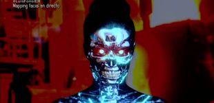 Post de De geisha a lagarta: Pilar Rubio se somete a un impresionante mapping facial