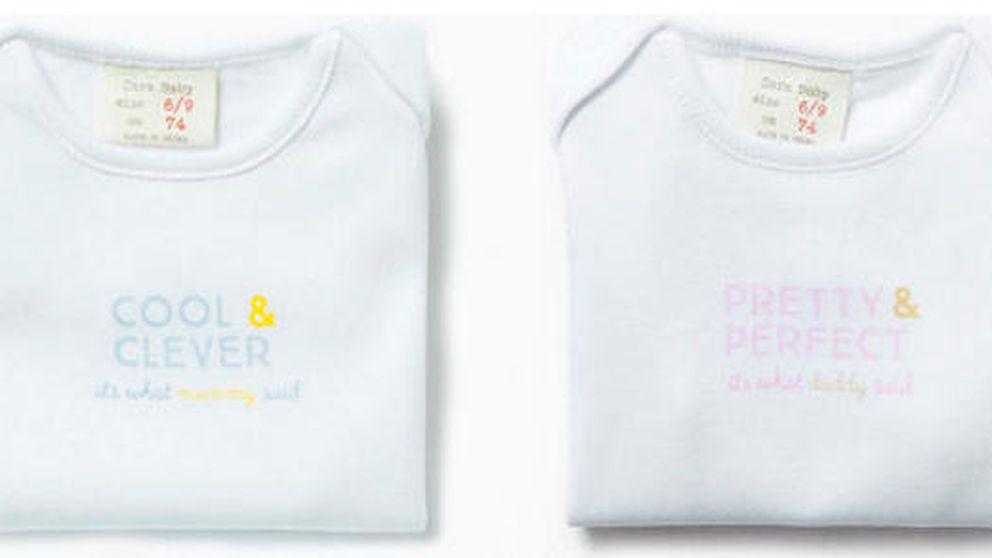 Los polémicos 'bodies' sexistas de Zara: niños listos y niñas guapas