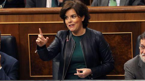 Santamaría pide a Rivera lealtad ante el reto independentista de Cataluña
