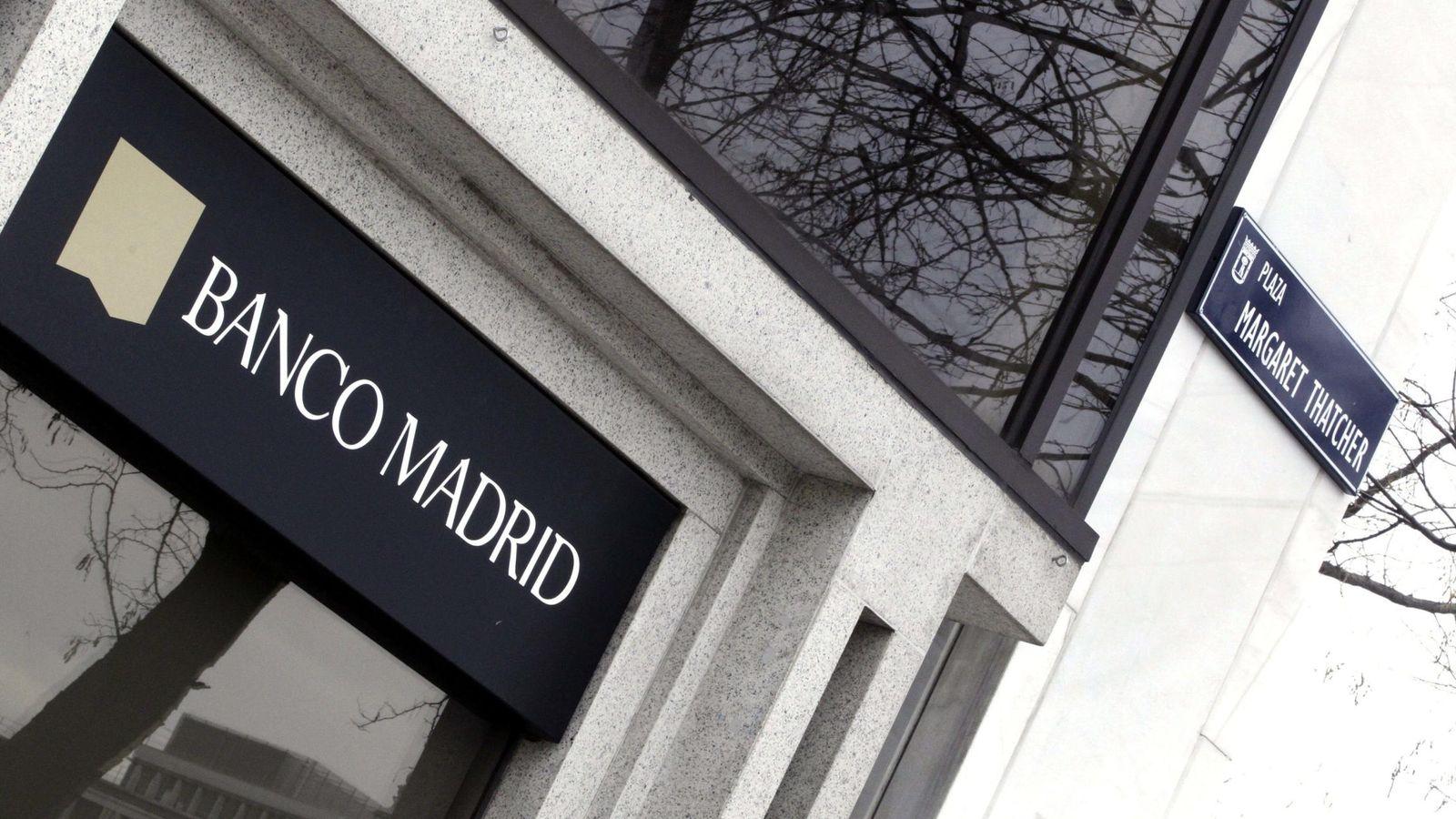 Foto: Banco Madrid fue intervenido el pasado 10 de marzo