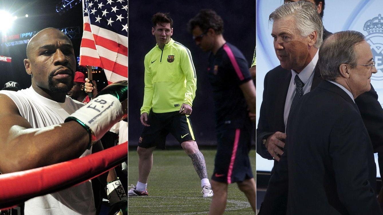 Del Combate del Siglo al enfado de Messi con Luis Enrique: esto es lo más leído del año