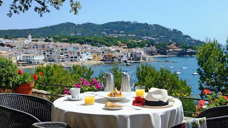 Así desayunarás en el hotel Sant Roc de Calella.