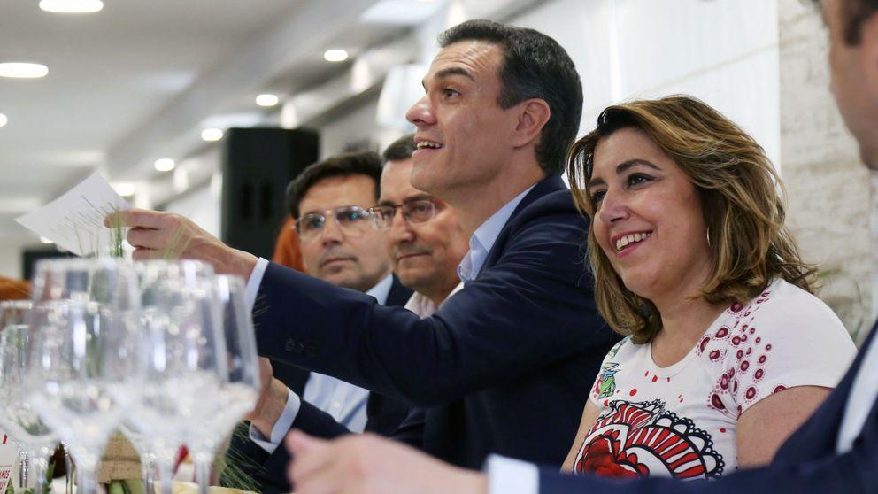 Susana Díaz y Pedro Sánchez buscan salidas para evitar otra batalla en el PSOE