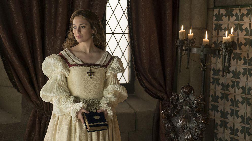 Primeras imágenes de Blanca Suárez como Isabel de Portugal