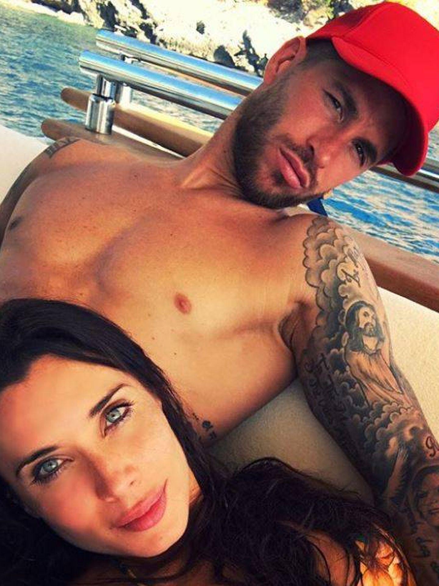 Pilar Rubio y Sergio Ramos. (Instagram)