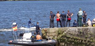 Post de Hallan el cuerpo del atleta portugués desaparecido en el río Miño