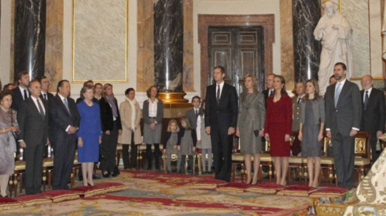 Imagen de la misa en honor a María de las Mercedes celebrada en 2010.(Casa Real)
