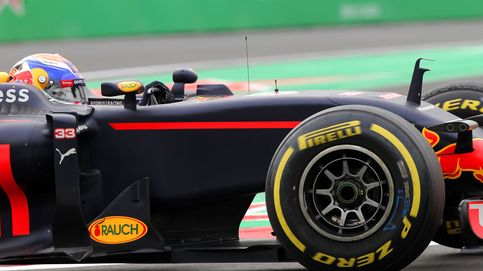Alonso, decimotercero, se volvió a encontrar con Vettel... je, je, divertido