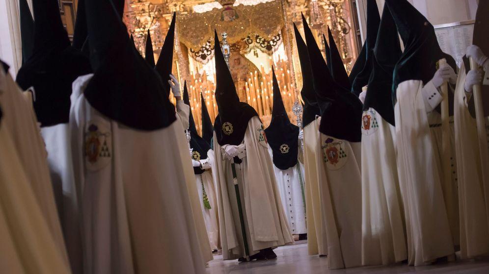 Foto: La Madrugá de Sevilla de 2018. (Efe)