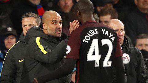 Guardiola celebra la vuelta de Touré, castigado tras la rajada de su agente
