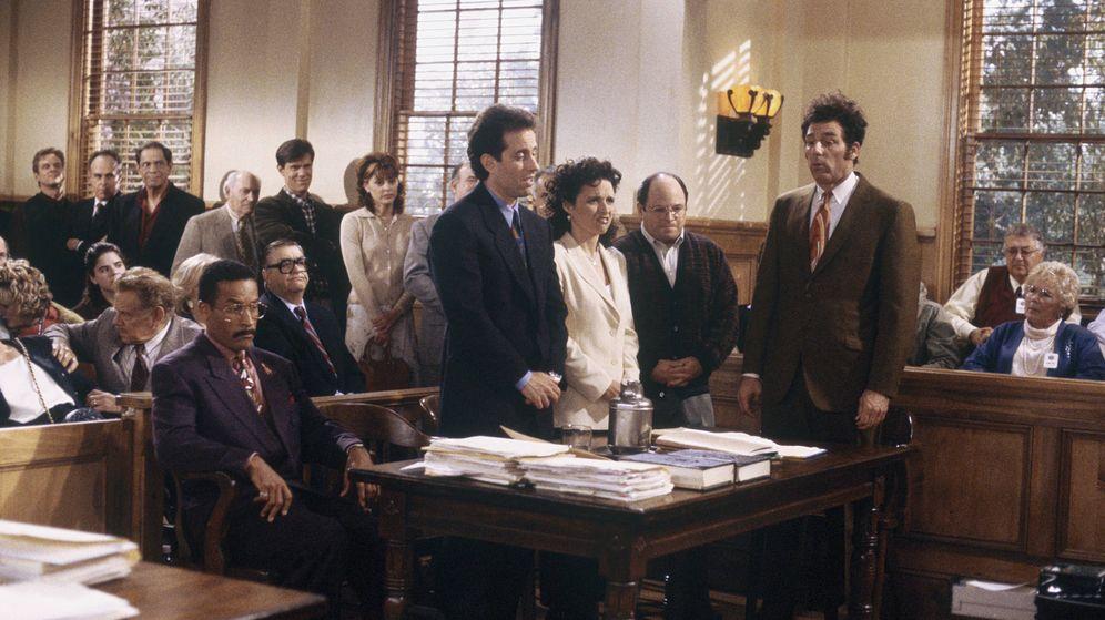 Foto: Imagen del último episodio de 'Seinfeld' emitido el 14 de mayo de 1998.