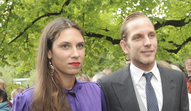 Andrea Casiraghi y Tatiana Santo Domingo, padres de una niña