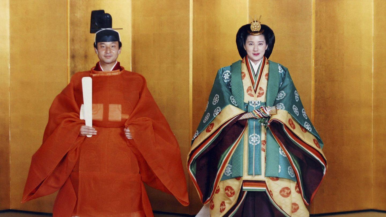 La boda de Naruhito y Masako