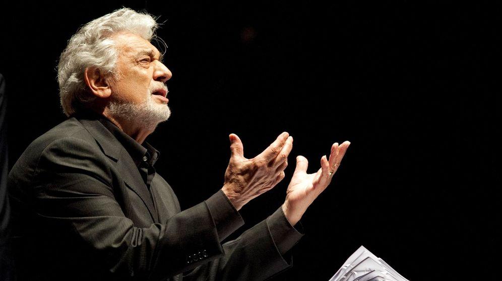 Foto: El tenor español Plácido Domingo. (EFE)