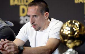 Ribéry no digiere el éxito de CR7 y el Bayern habla de conspiración