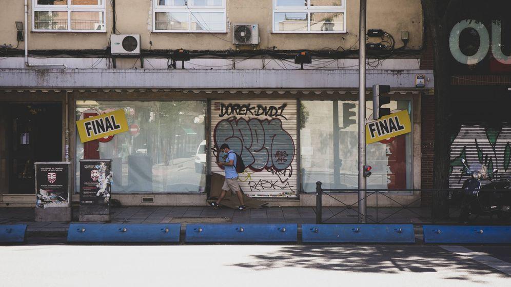 Foto: Calle Bravo Murillo, en el distrito de Tetuán, donde ha aumentado el cierre de comercios. (M. Z.)