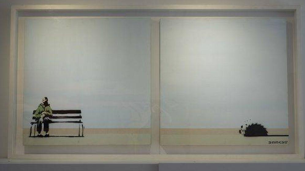 Foto: 'Western Super Mare', Banksy (Galería Vroom