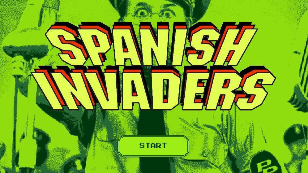 Foto: Primera pantalla del videojuego 'Spanish Invaders'.