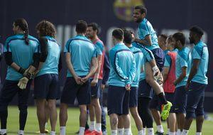 El Barça, a esperar una carambola tras el último homenaje a Vilanova