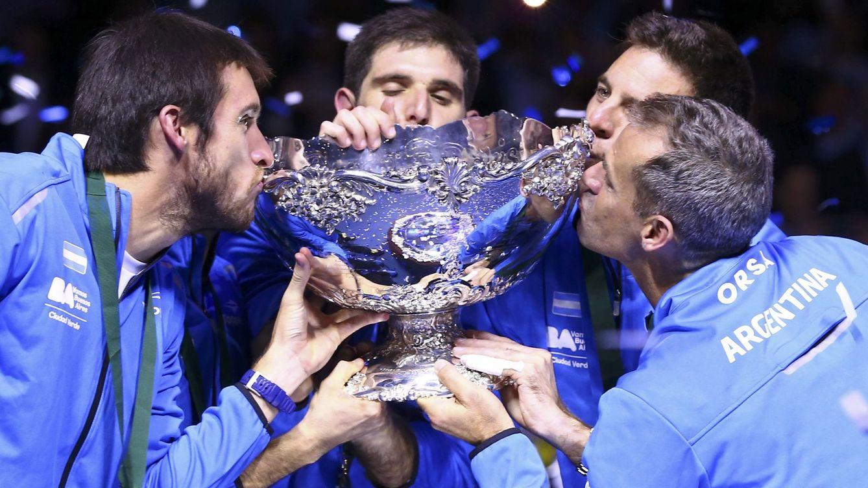 Delbonis y Del Potro remontan a Croacia y le dan a Argentina su primera Copa Davis