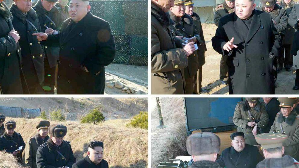 Kim Jong-un señala la capacidad de sus pilotos de realizar ataques suicidas