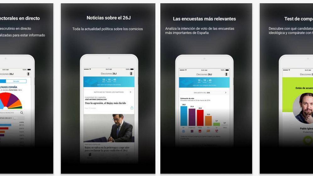 Foto: App de elecciones de El Confidencial