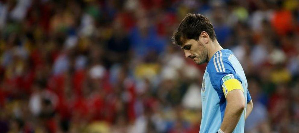 Foto: El capitán de la Selección, Iker Casillas