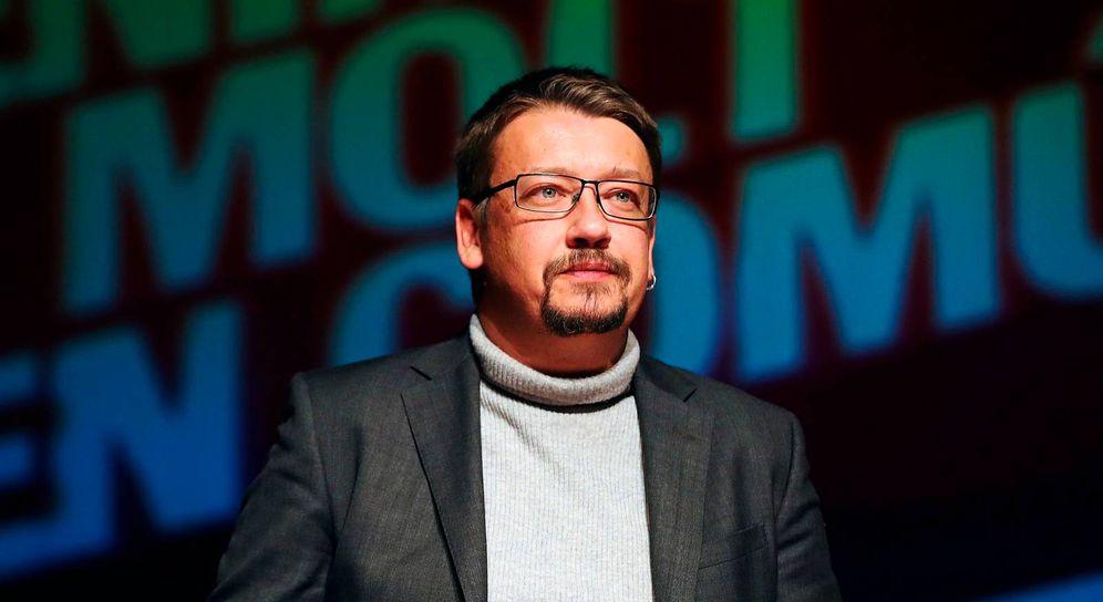 Foto: Xavier Domènech en un acto de campaña. (EFE)