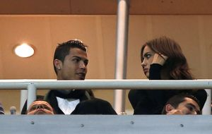 Cristiano vio el partido con Lim, que quiso comprar el Atlético