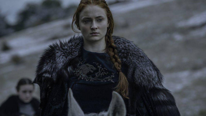 Sansa Stark, en 'La Batalla de los Bastardos'. (HBO)