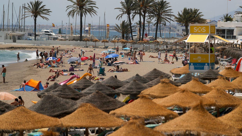 Marbella, a principios de este mes de julio. (Reuters)