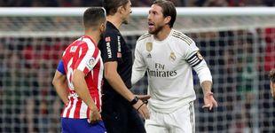 Post de Por qué Simeone denuncia un injusto trato arbitral y su reacción contra Sergio Ramos