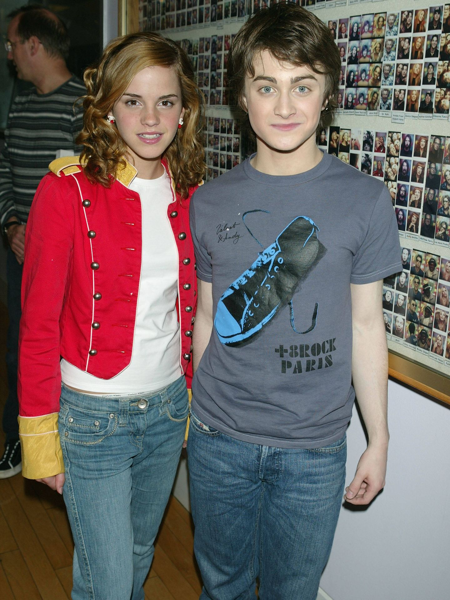 Watson y Radcliffe, en una imagen de 2004. (Getty)