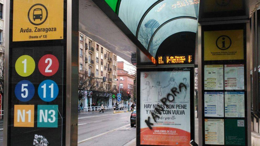 Boicot a las niñas con pene y niños con vulva: atacan los carteles de la campaña