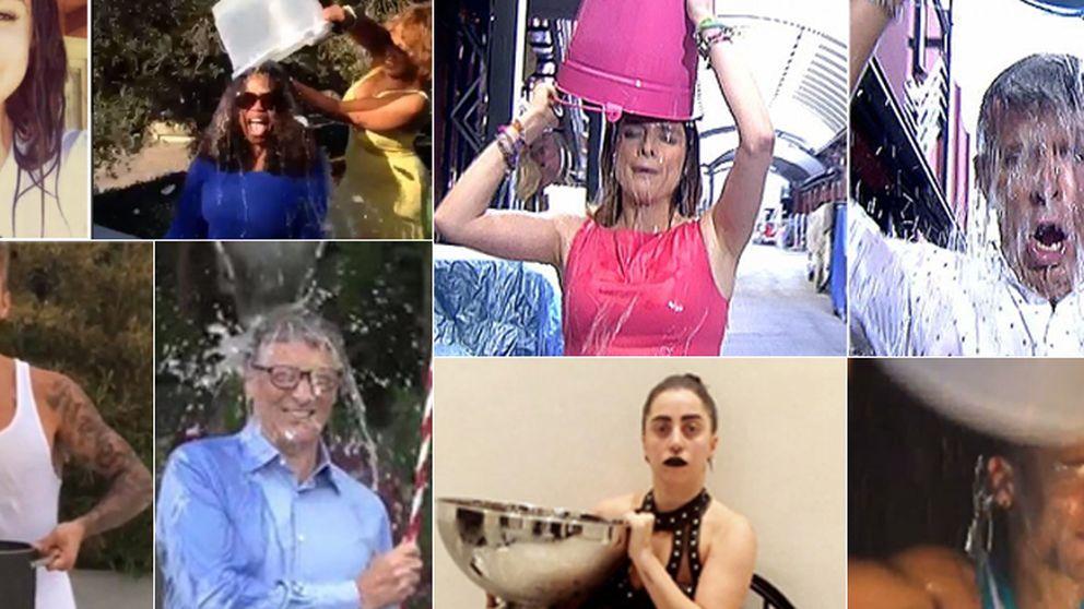 Los famosos se mojan por la esclerosis