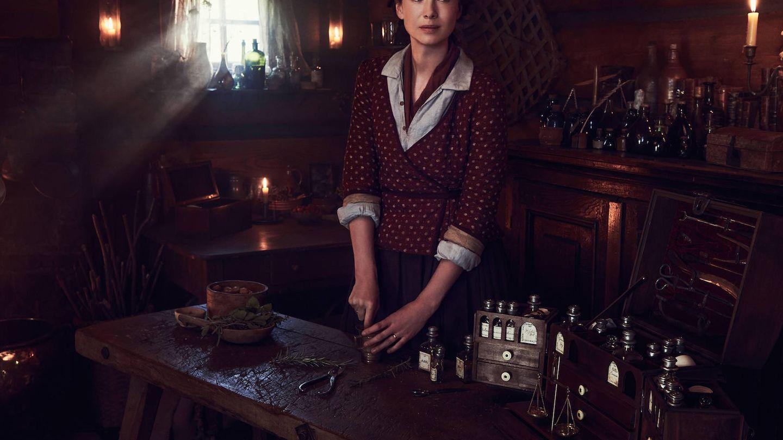 Caitriona Balfe en una imagen de la cuarta temporada de 'Outlander' (Movistar)