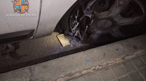 Intentan quemar con pastillas de barbacoa un vehículo en Palma