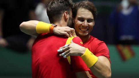 Nadal y Granollers le sacan a España un billete para las semifinales de la Copa Davis