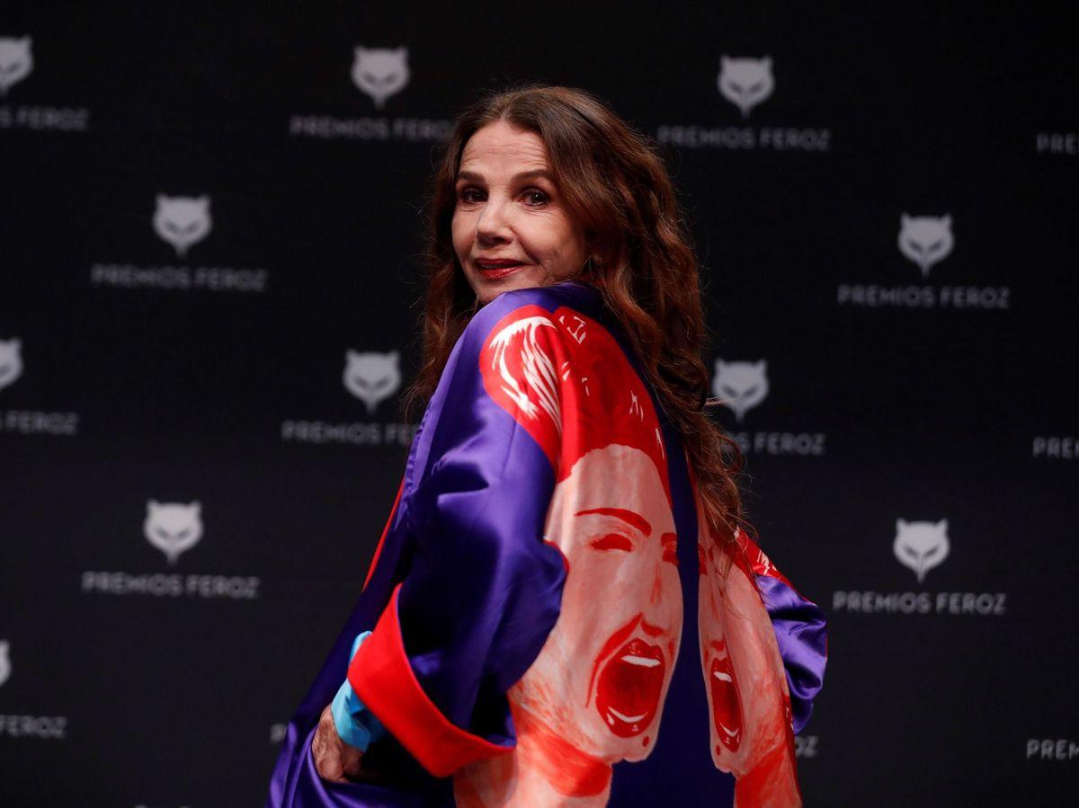Foto: Victoria Abril, Premio Feroz de Honor 2021. (EFE)