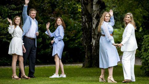 Las hijas de Máxima de Holanda: 1.000 euros en ropa y una 'cortina de humo'