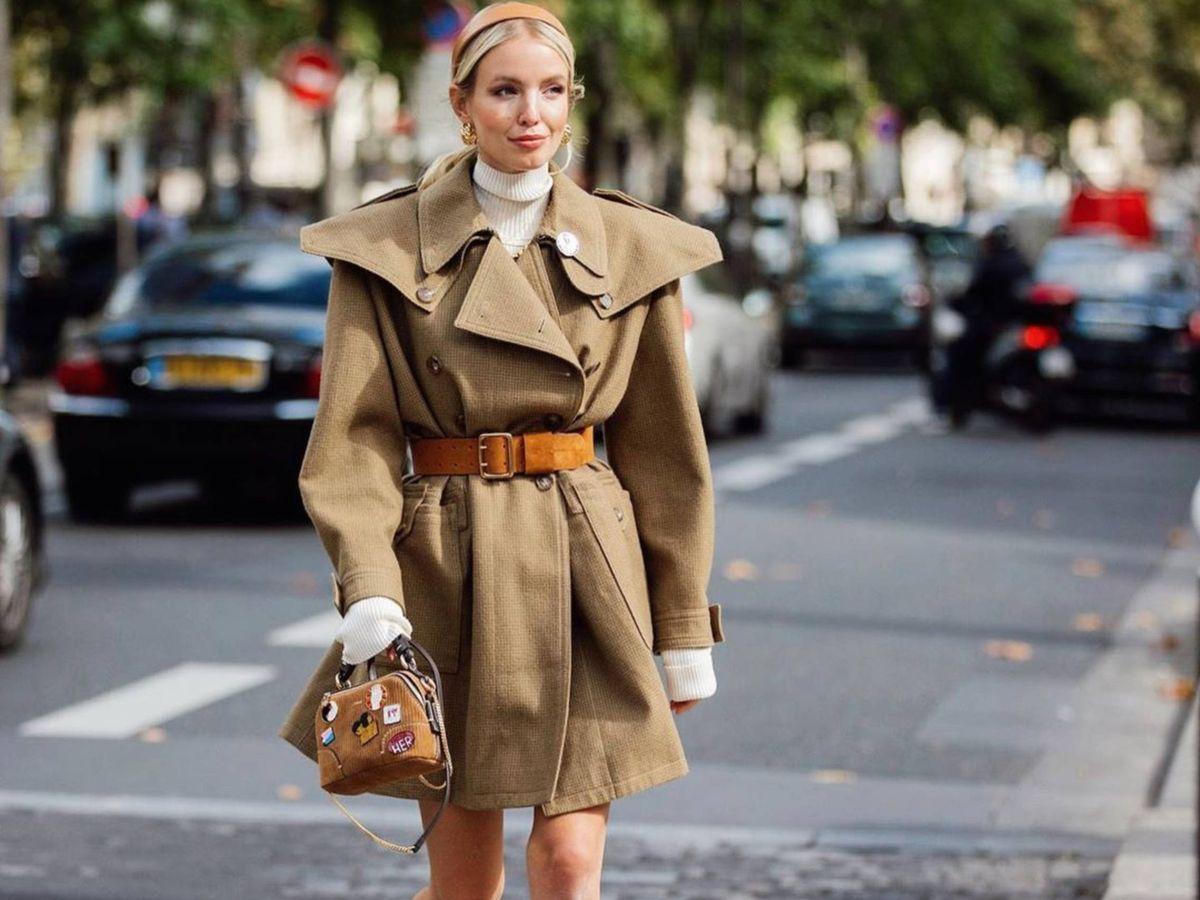 Foto: La insider Leonie Hanne, paseando por París. (Instagram @leoniehanne)