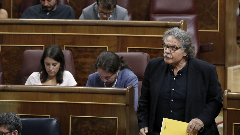 ERC lleva al Congreso una moción que omite la independencia y solo habla de diálogo