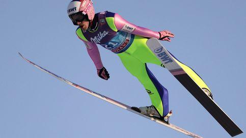 Hielo en Nueva York y saltos de esquí en Suiza: el día en fotos