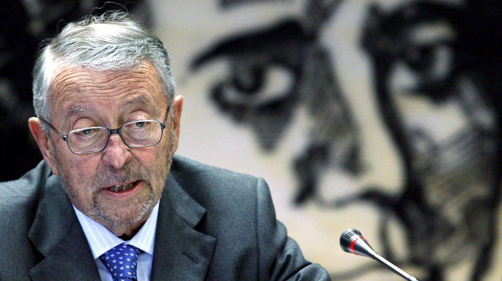 Foto: El expresidente de RTVE, Alberto Oliart (EFE).