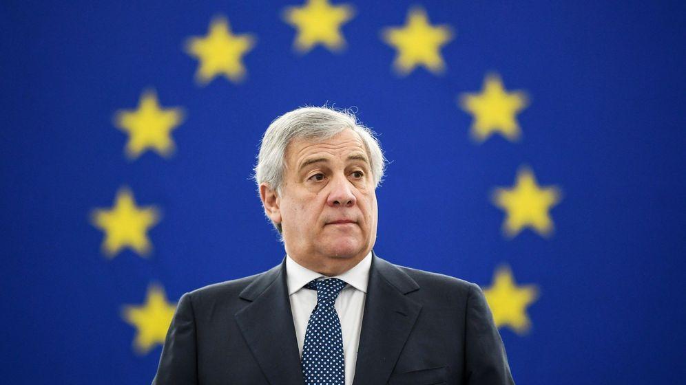 Foto: El presidente del Parlamento Europeo, Antonio Tajani. (EFE)