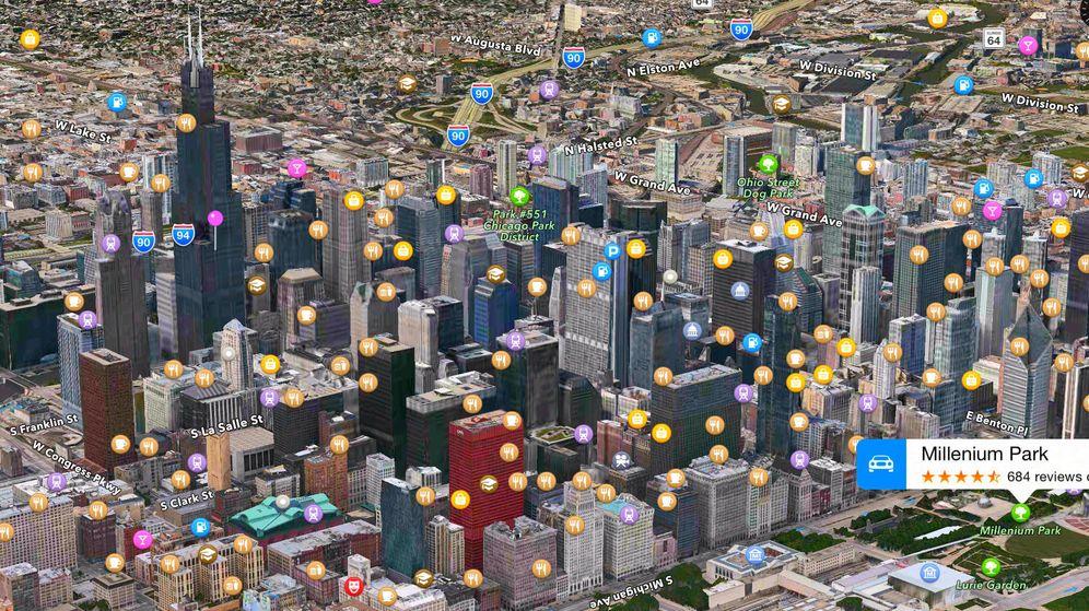 Foto: Apple Maps.(EC)